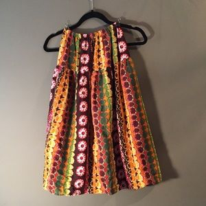 Yiguo boho skirt. Size xs/s. 65% cotton 35% hemp